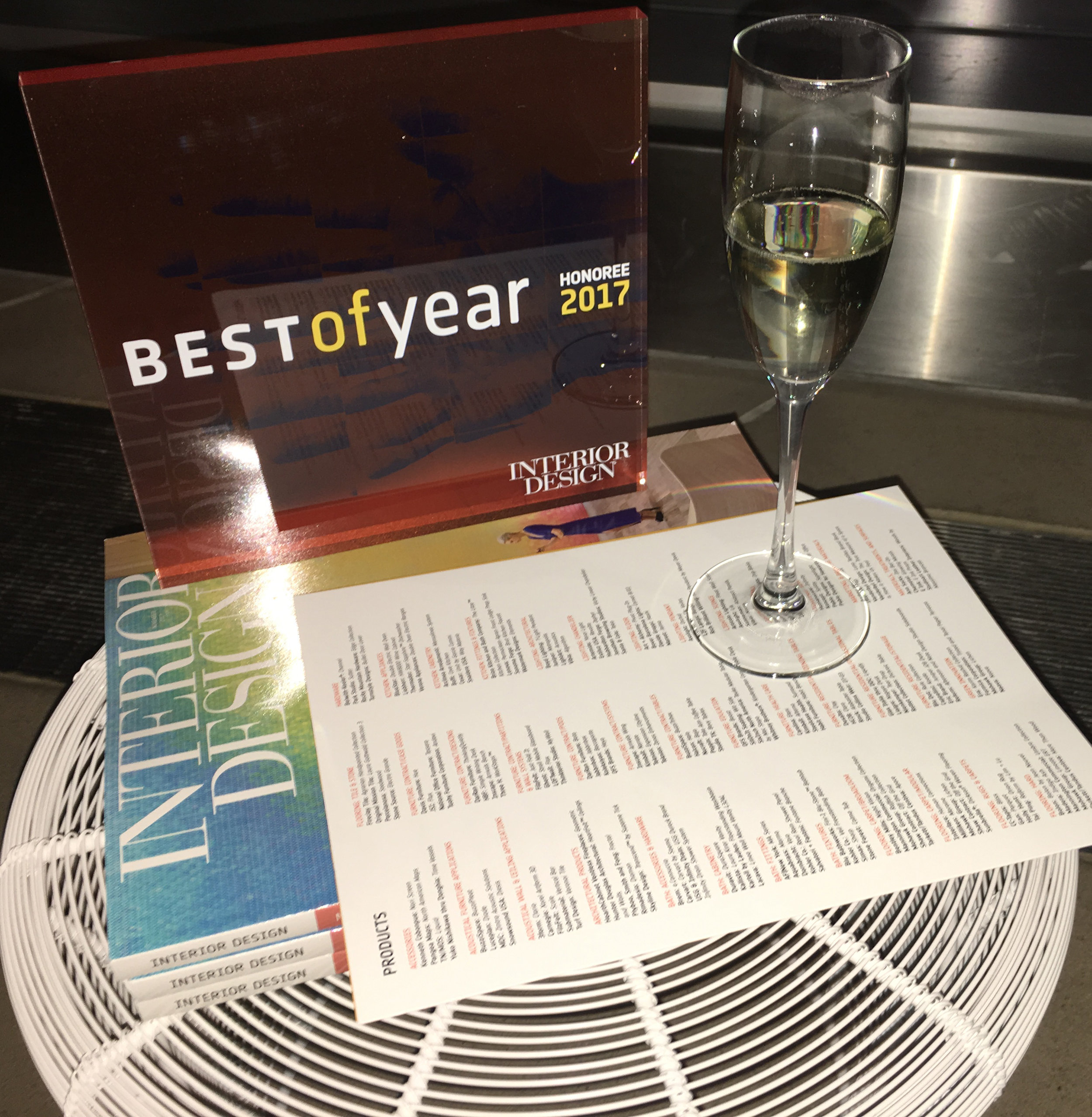 We Re An Honoree In Interior Design S 2017 Best Of Year Awards