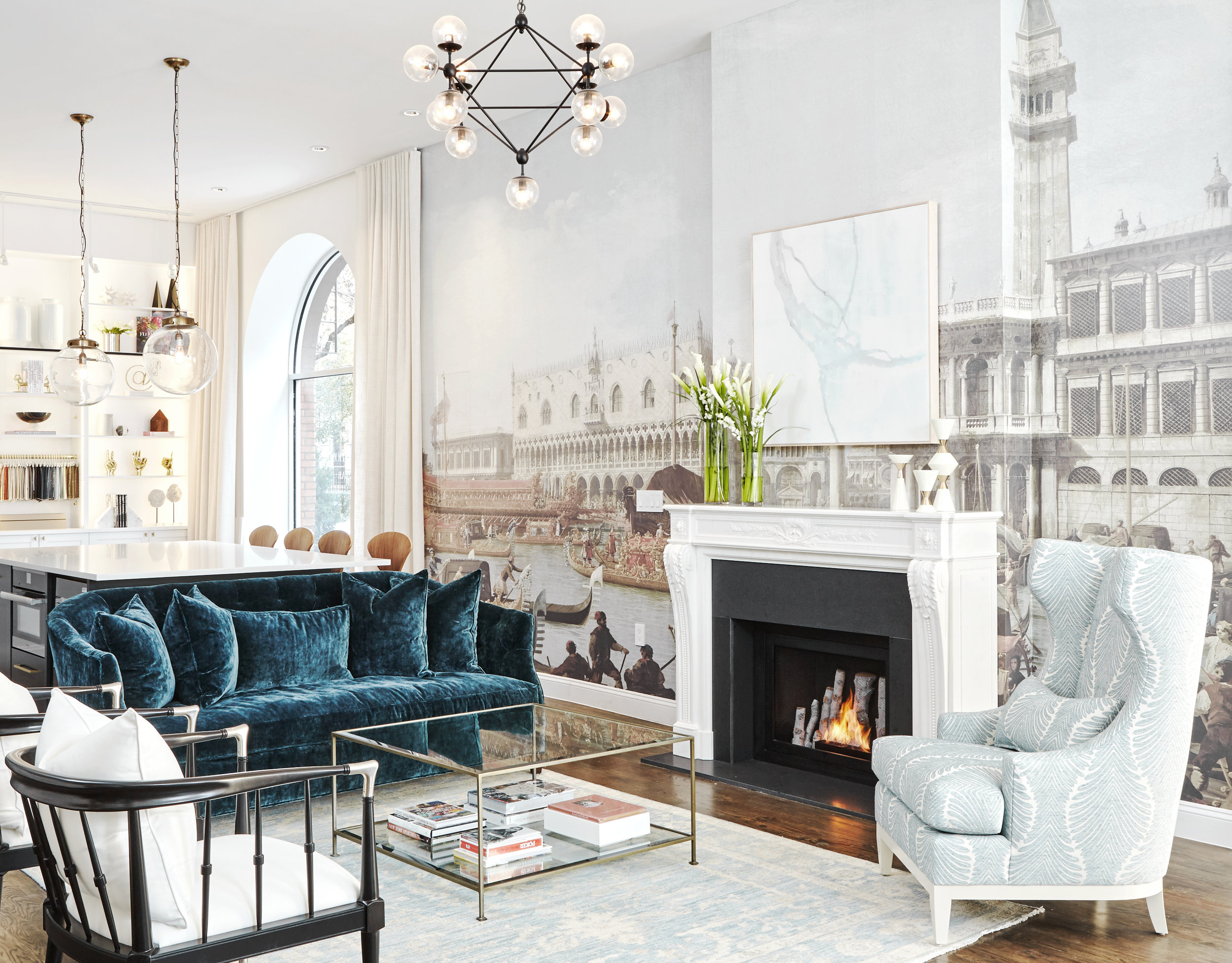 Pictured: Kathy Kuo Home, Design Bar