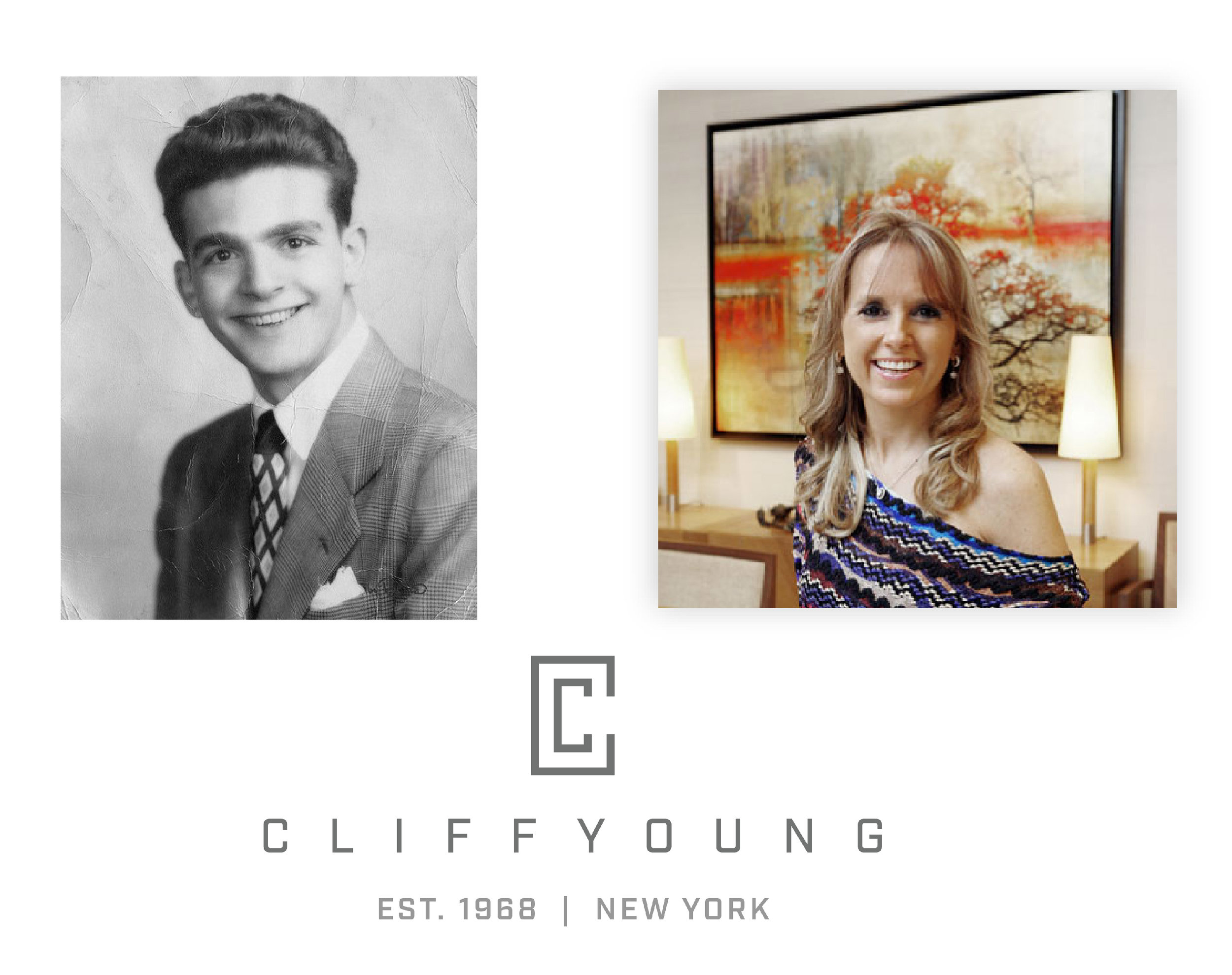 Cliff Young Ltd. founder Cliff Young + daughter & current CEO Leslie Azzolina Zarra