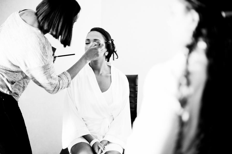 Wedding Makeup at Le Meridien