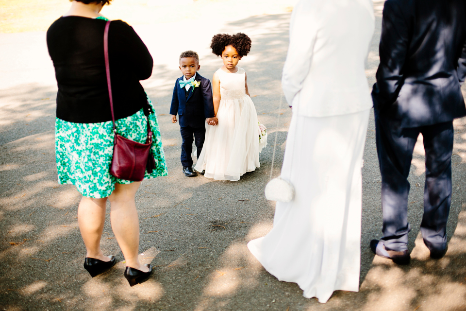 Cutest kids at the wedding.