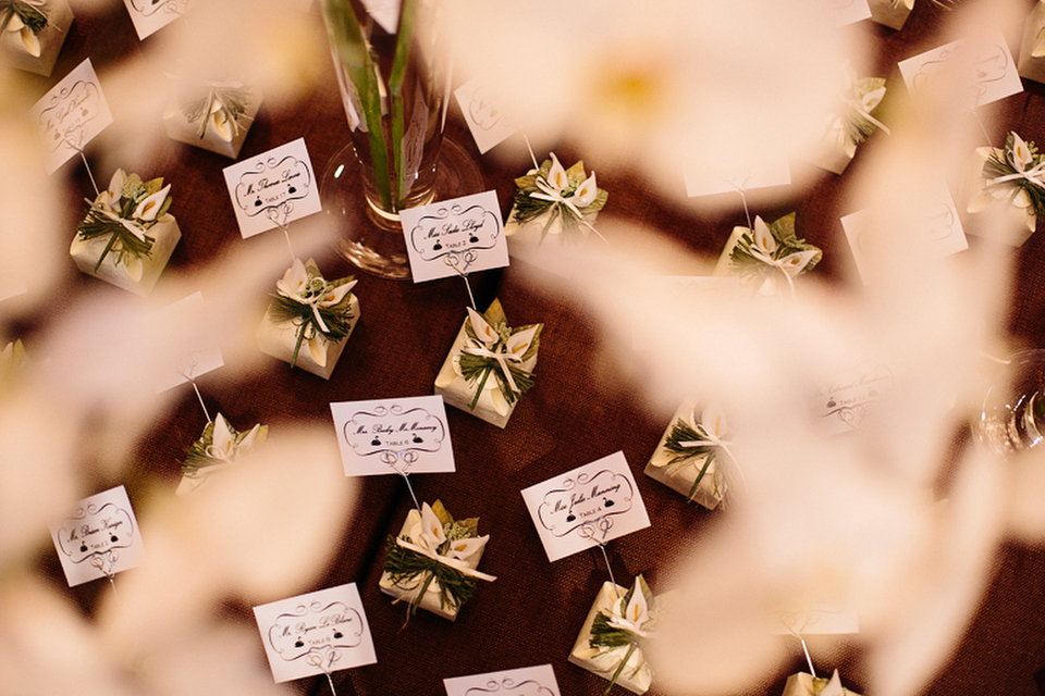 Beautiful, handcrafted wedding favors.