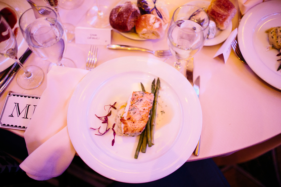 Liberty hotel food