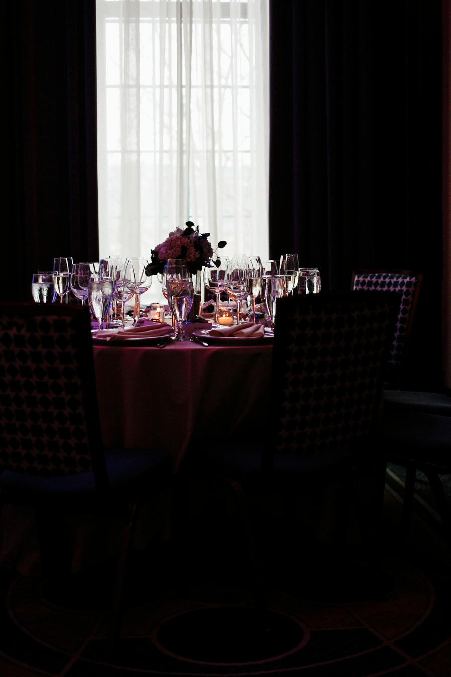 tabledecor from a wedding at the liberty hotel