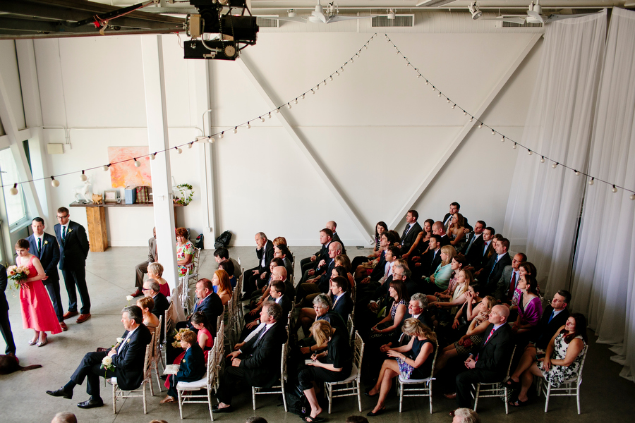 guests viewing ceremony