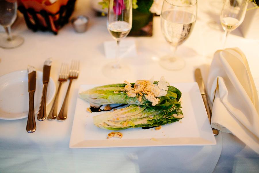 Food salad detail