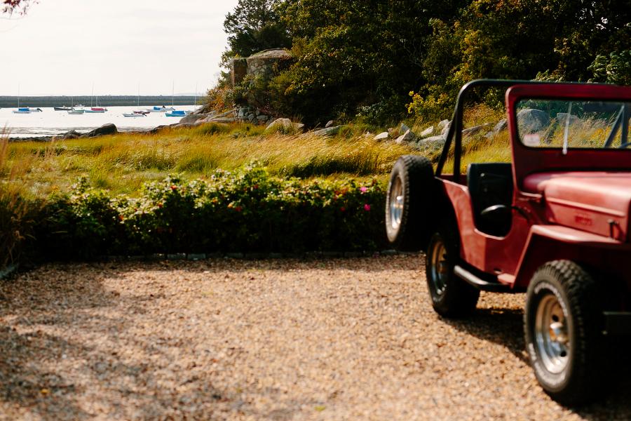 Jeep outside