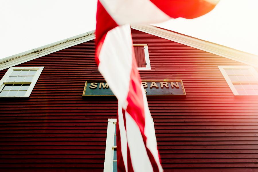 Smith barn wedding in Peabody