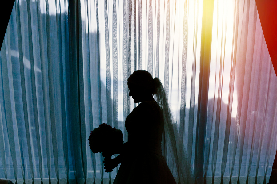 bride at langham hotel boston