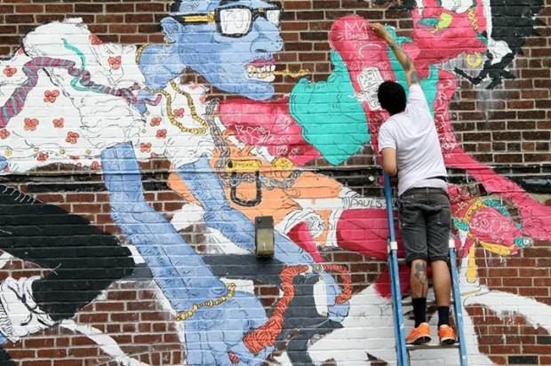 Urbana Downtown Mural Project via Kickstarter