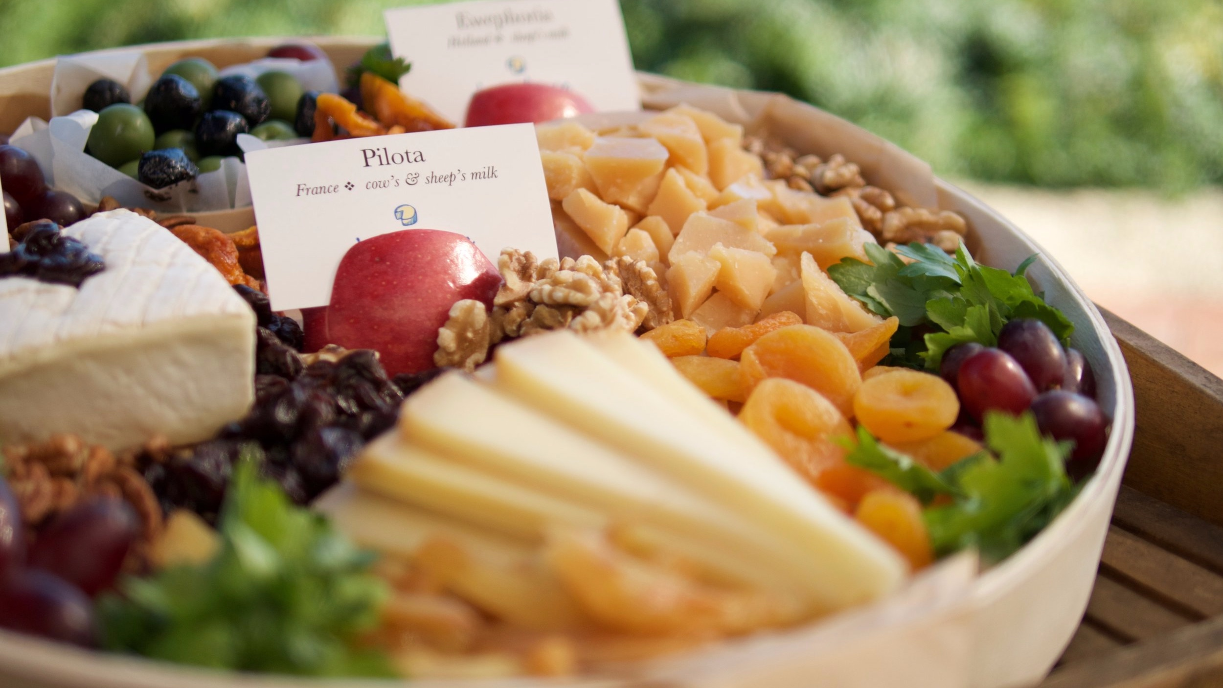Catering - Because who really wants to go to a party without cheese.