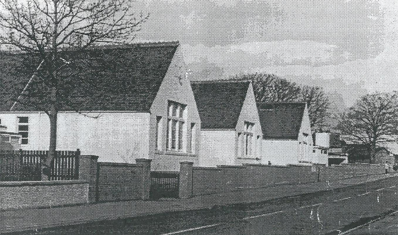 Hill of Beath School, Fife - extended in 1893 for up to 200 pupils. The first school in 1890 took 70 pupils and was built by the Fife Coal Company