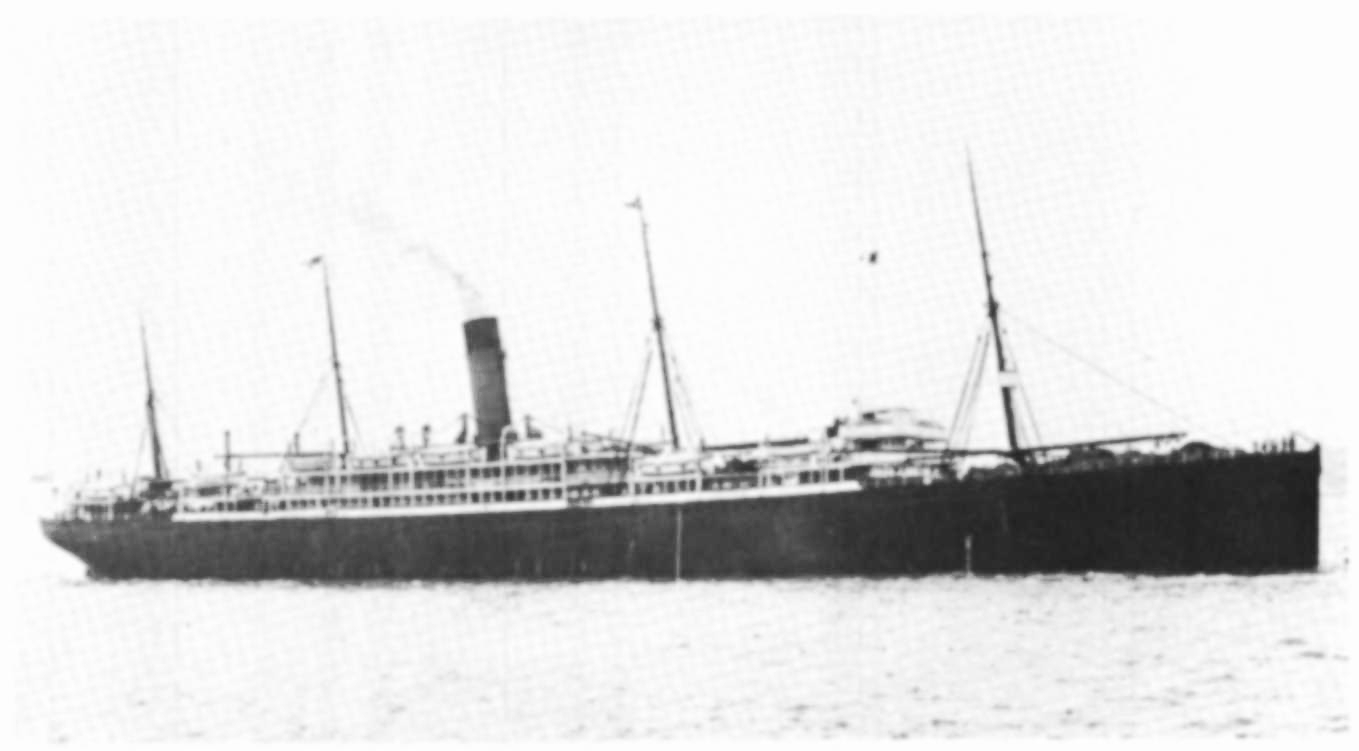 'Athenic'  steam ship. Margaret Law 20, Janet 22, Christina, 25 yrs. the x3 older daughters of Thomas Law GGF left on this ship a week earlier, than the rest of the family, 12 January 1922 from Southampton to Wellington, NZ.