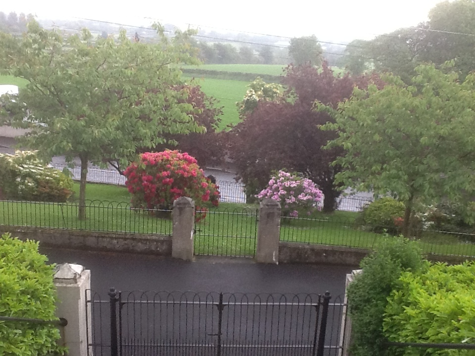 View from First Ballyeaston Presbyterian Church overlooking the Six Mile Water