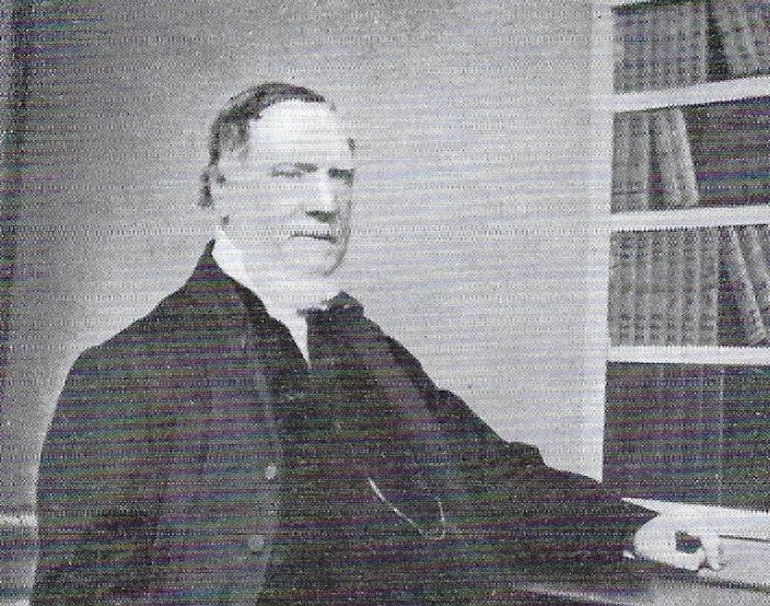 Reverend William James Raphael - Pastor of the First Ballyeaston Presbyterian Church for 44 years, 1821 - 1865.  He was much loved by his flock, highly respected and likely to have performed the marriage between Thomas Law and Margaret Knox in 1842.