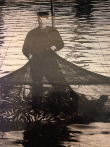 Herring Fisherman, Robert Harcus was a Fisherman