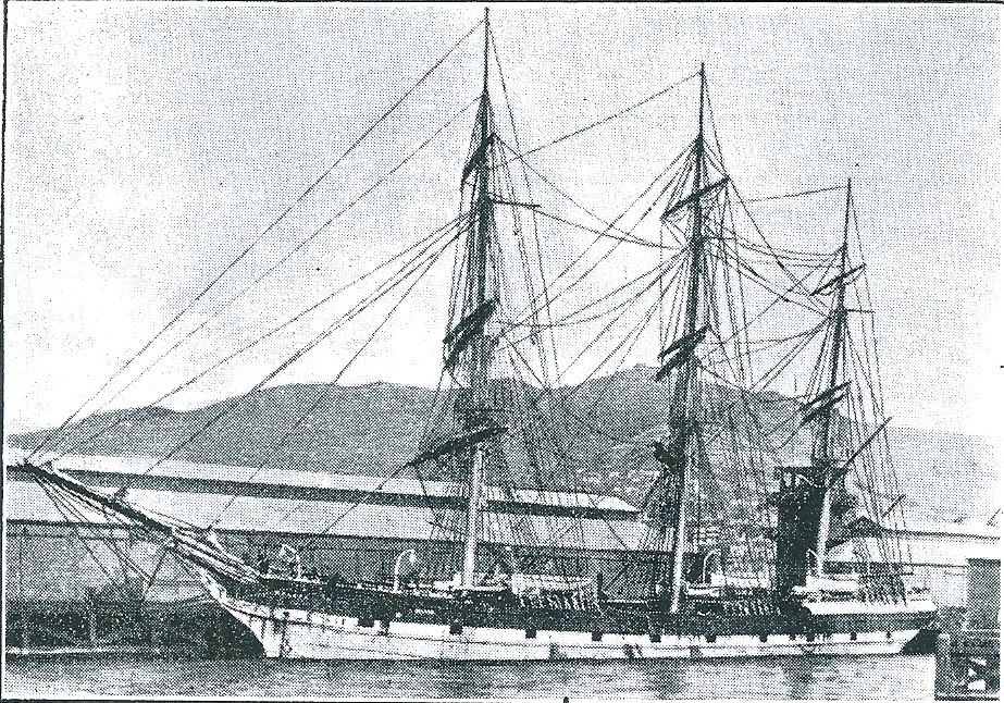 The Nelson  sailing ship brought Robert Harcus and family and many immigrants to NZ in 1874.