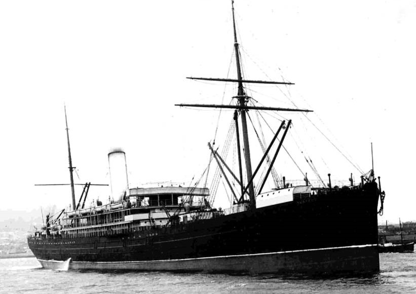 RMS Ruapehu  was seconded by the Admiralty in WW1 to become a Troop ship like most British passenger liners. She was designated HMNZT79 (His Majesties NZ Troopship no. 79). James Harcus left NZ on the  RMS Ruapehu  from Port Chalmers Dunedin on 16 October 1914.