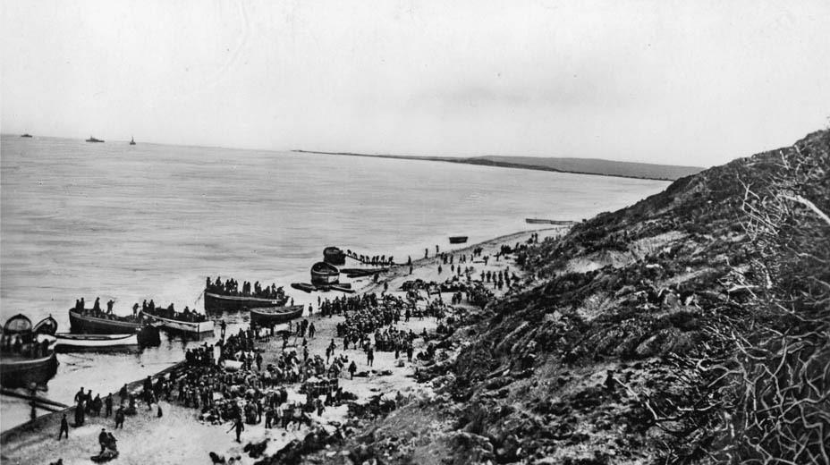 Gallipoli Landings, Anzac Cove, 25 April 1915.