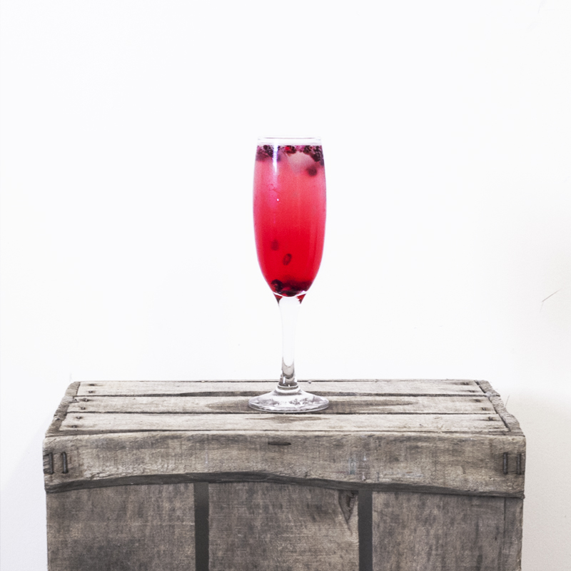 5TH DECEMBER: POMEGRANATE MIMOSA