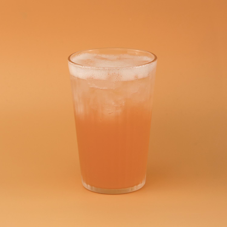 Aperol + Rhubarb Cobbler