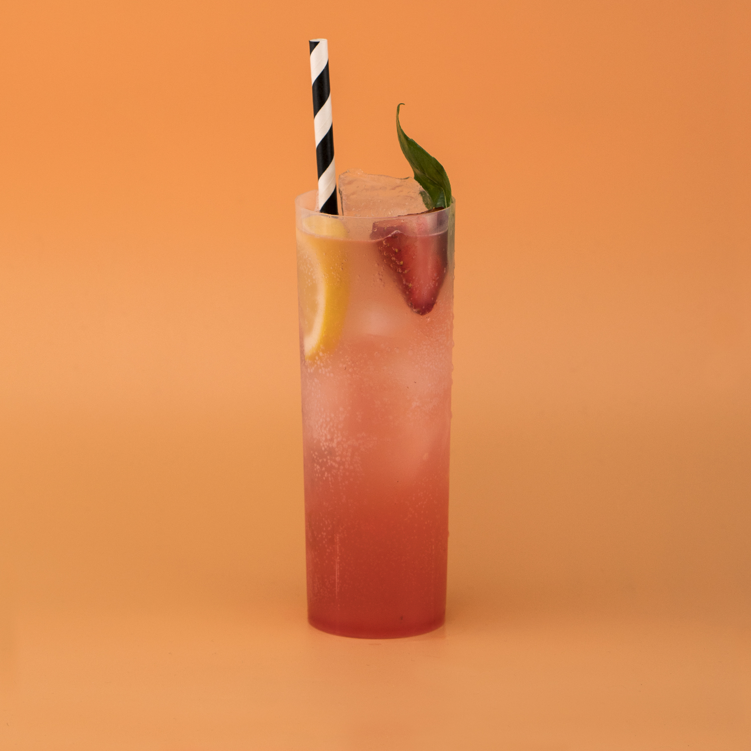 Strawberry + Basil Collins