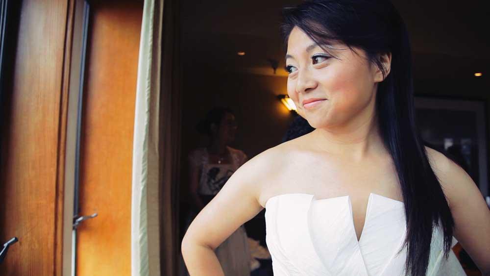 Carmel Wedding Bride