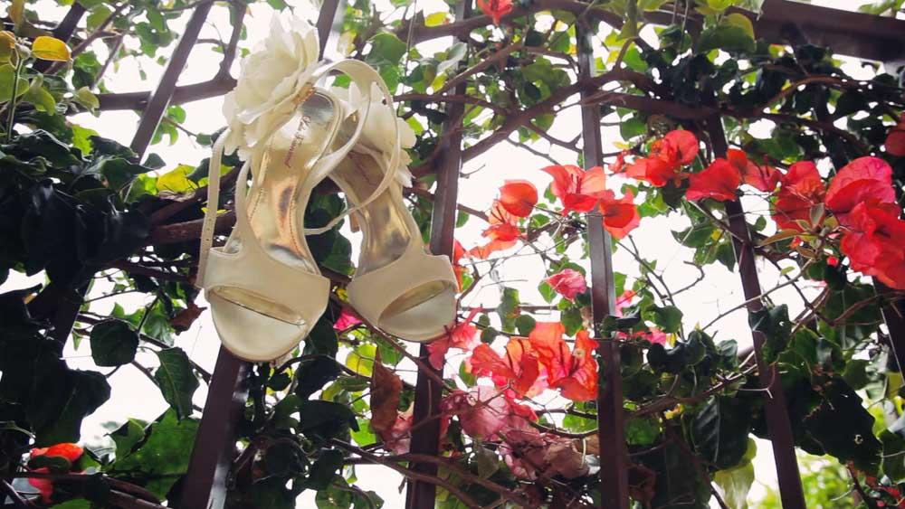 Bridal Shoes - Carmel Wedding