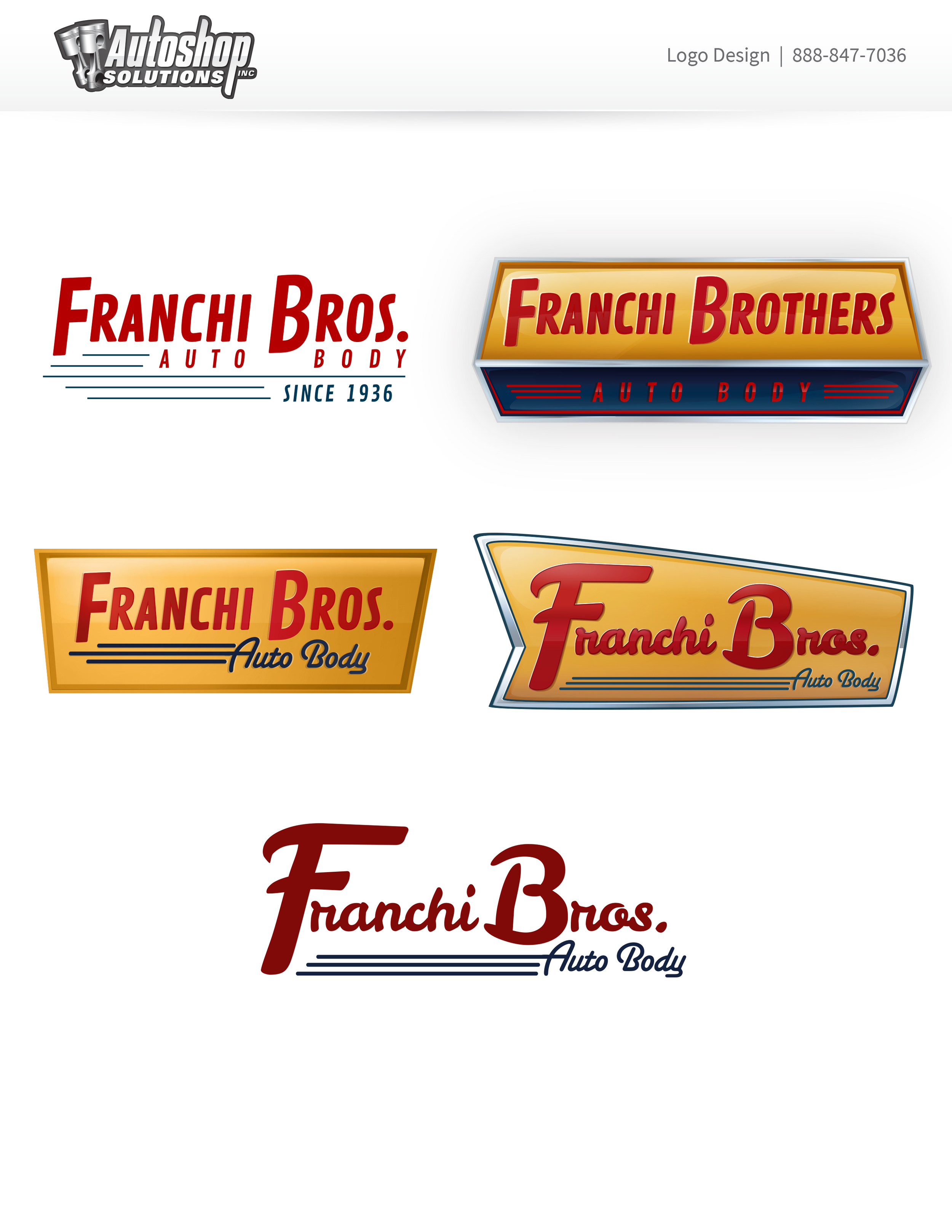 Franchi Brothers Auto Body - Phase 1