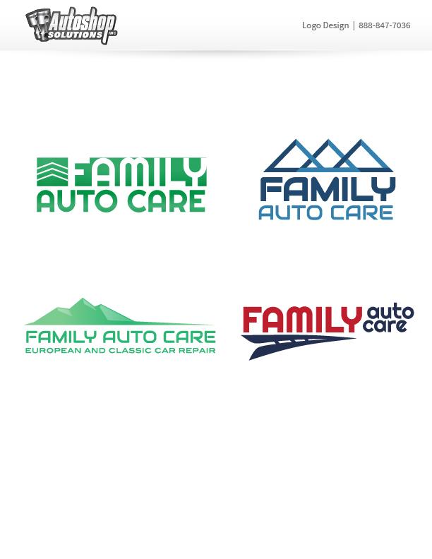 Family Auto Care Logo - Phase 1