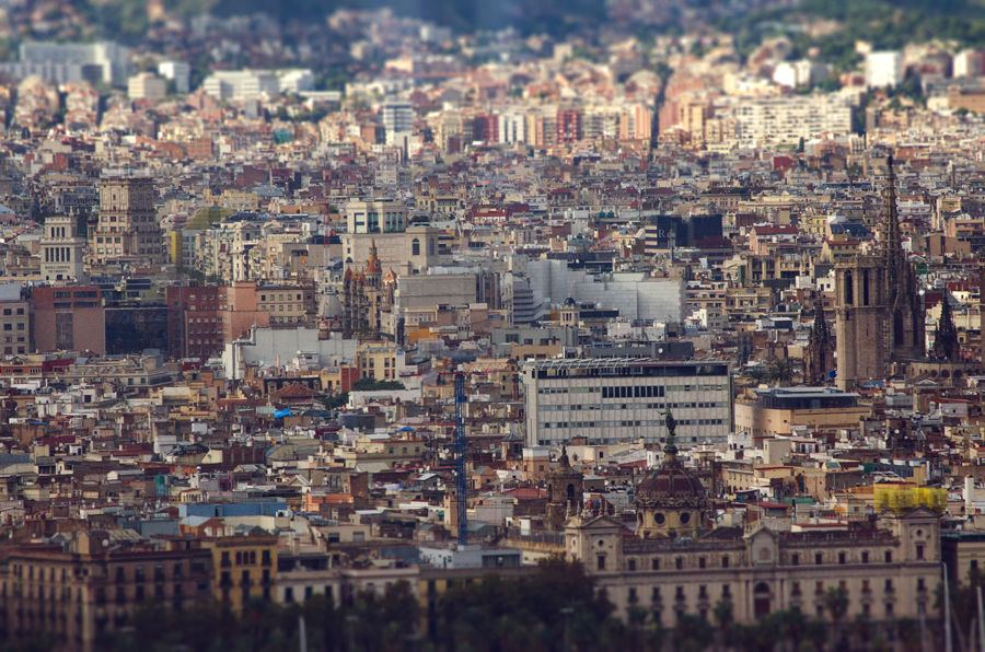 Barcelona from the W Hotel