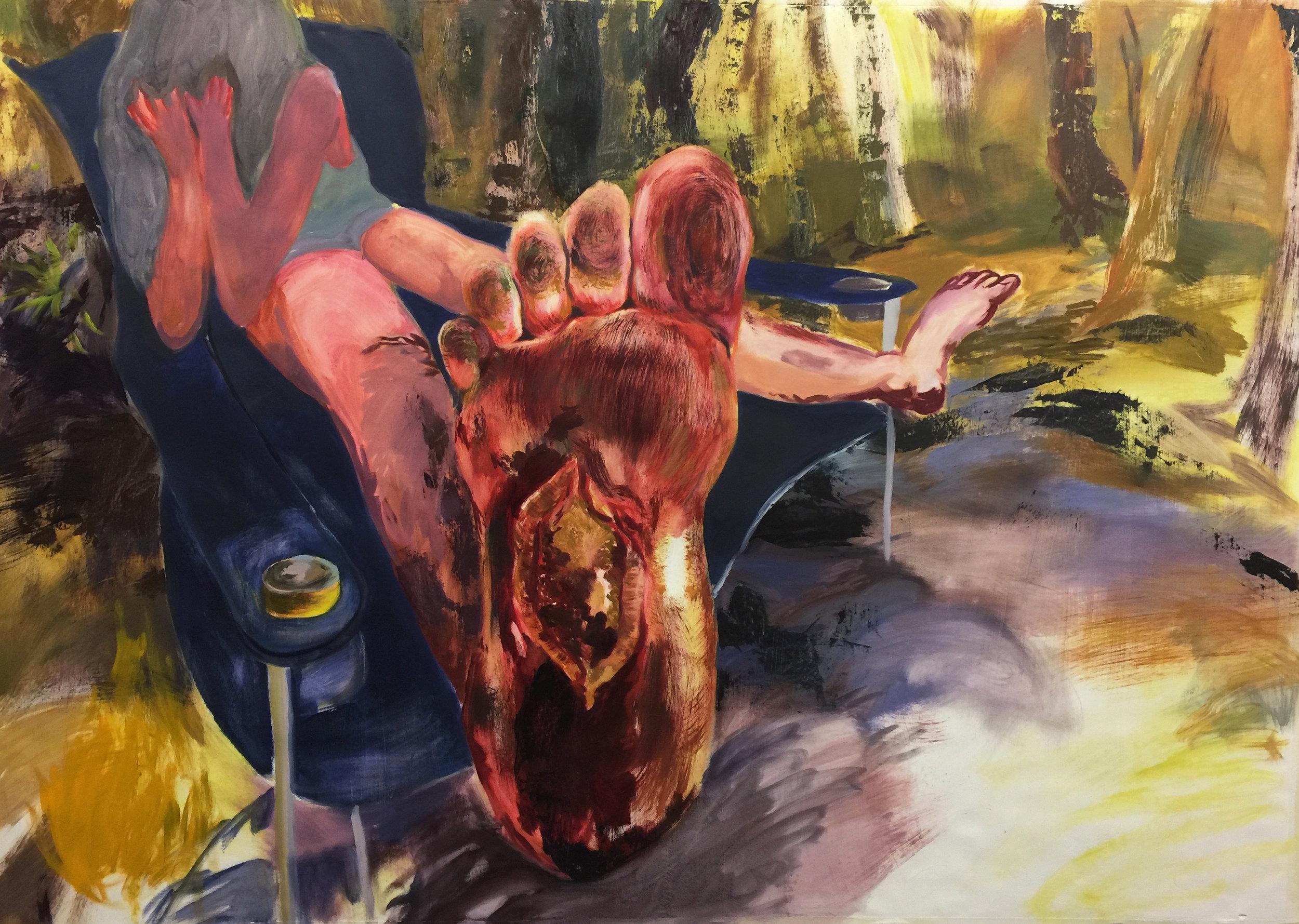 Cut Foot and Rubbed In Dirt (Suwannee Swifty Feet)