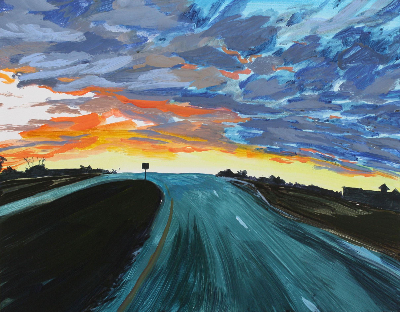 Highway 41 Sunset