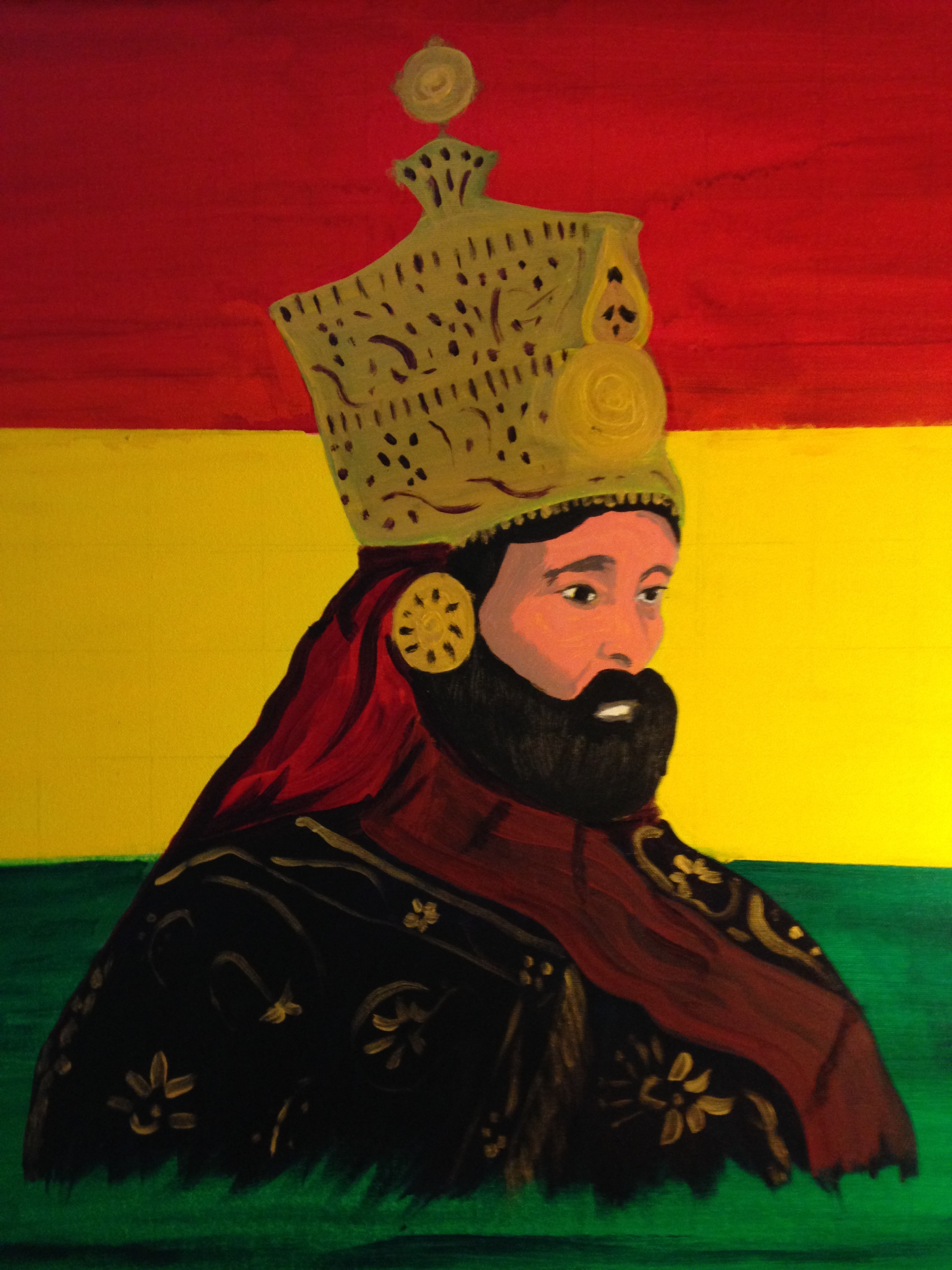 HIM on Flag by Zion Fyah