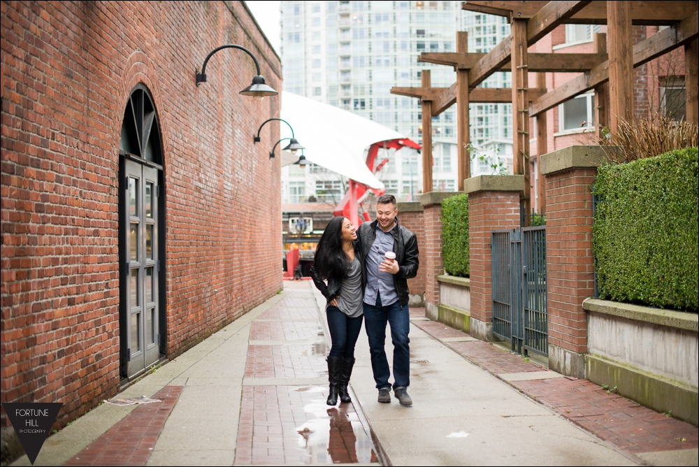 Vancouver Yaletown Couples photos