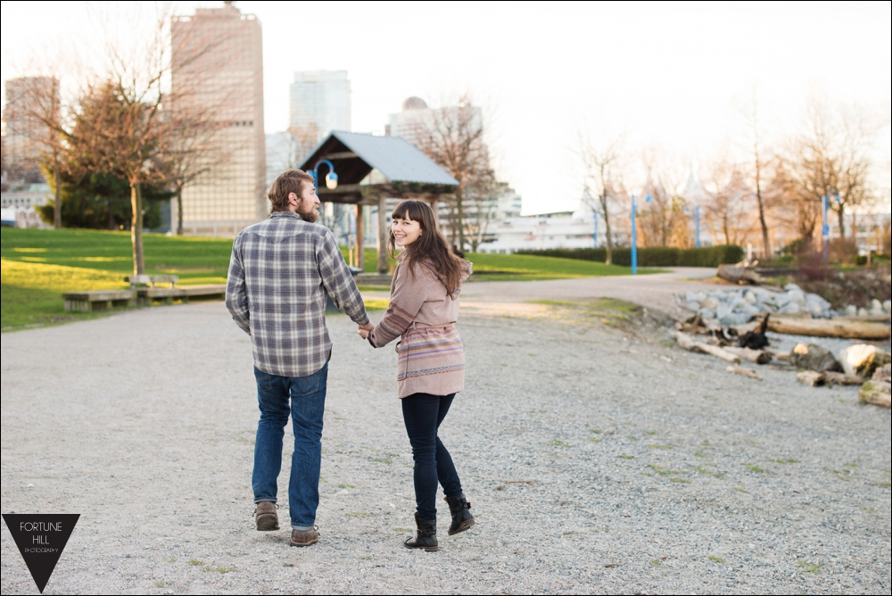 Vancouver Crab Park Engagement Photos