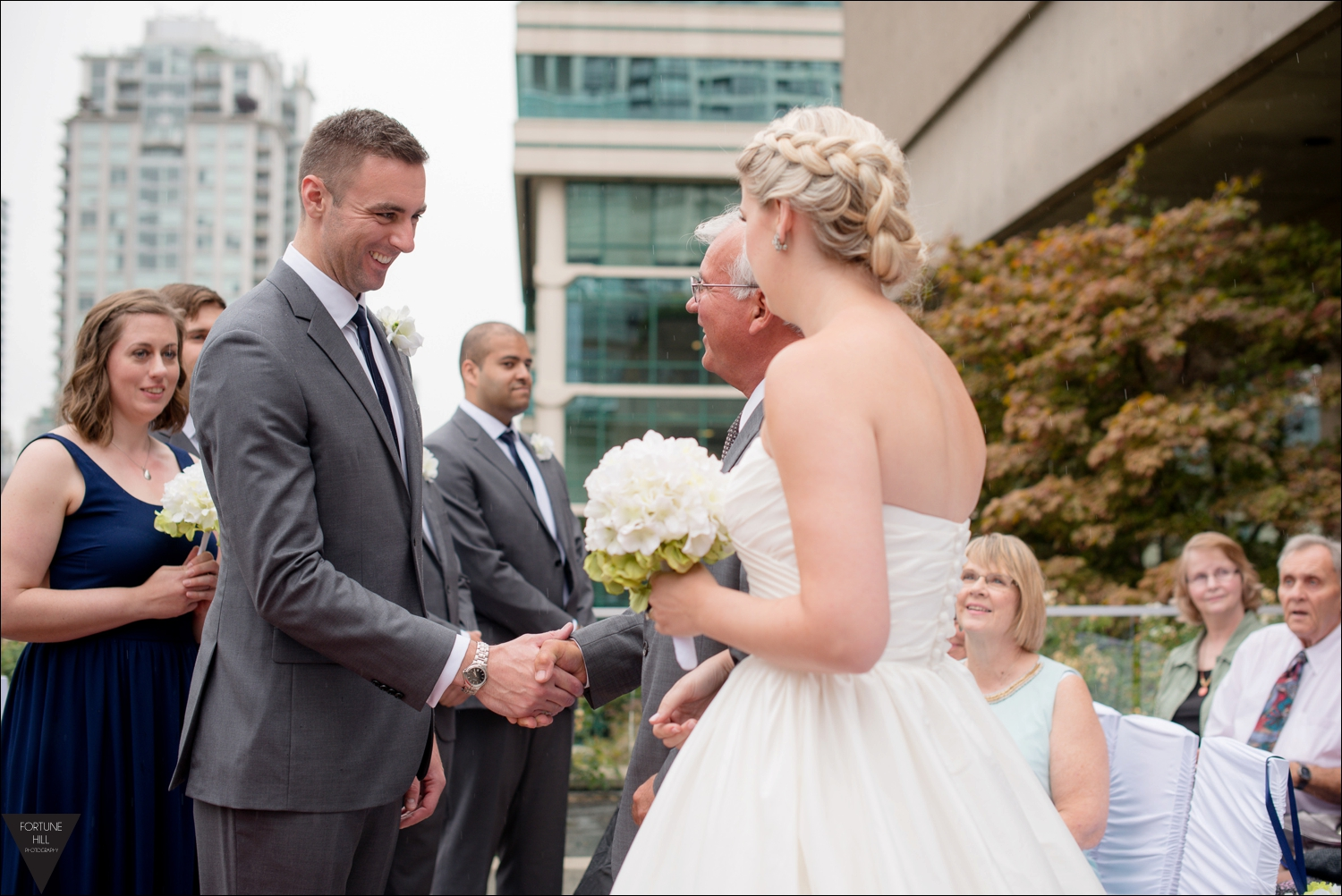 Vancouver Law Courts Wedding pictures