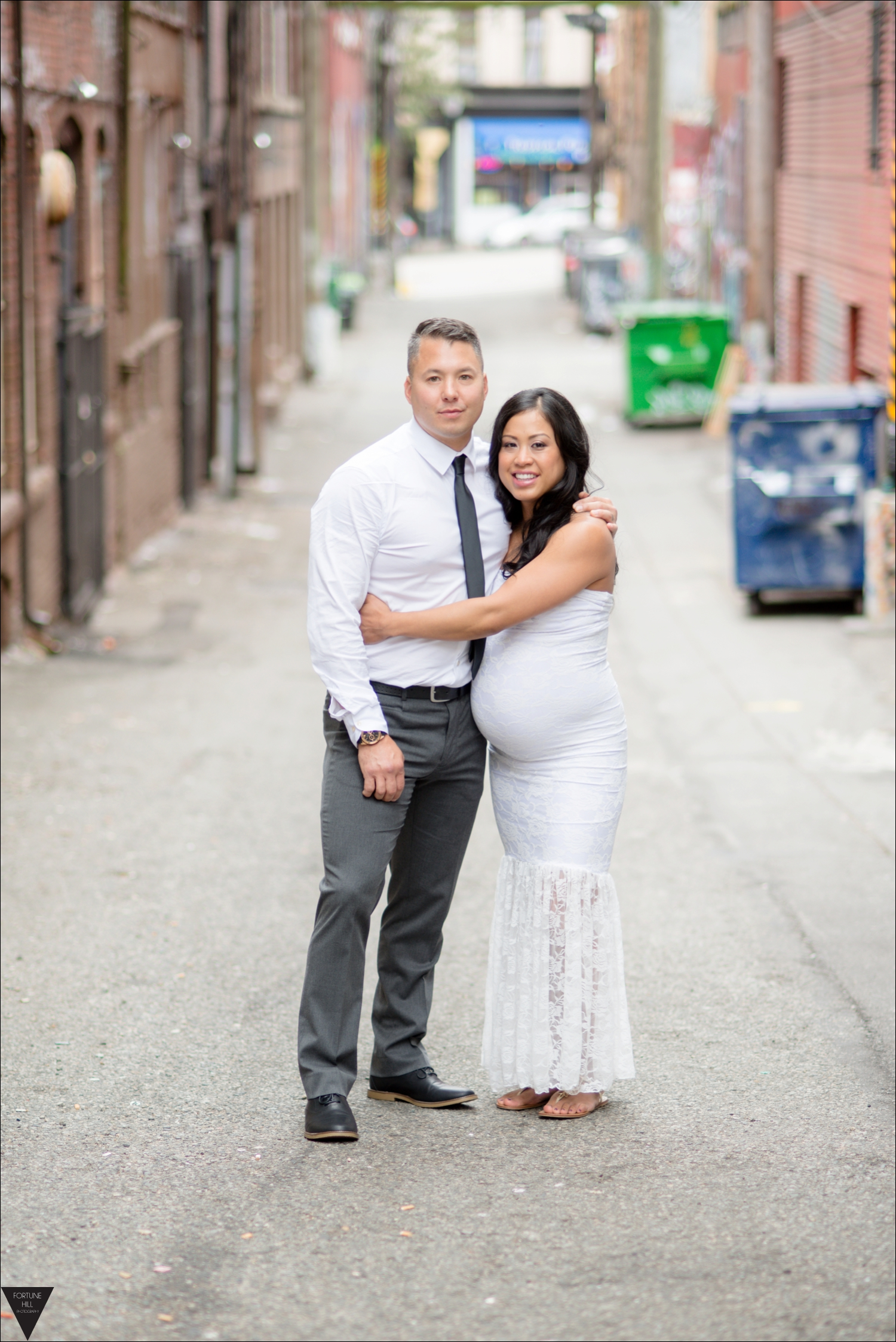 Vancouver gastown wedding pictures