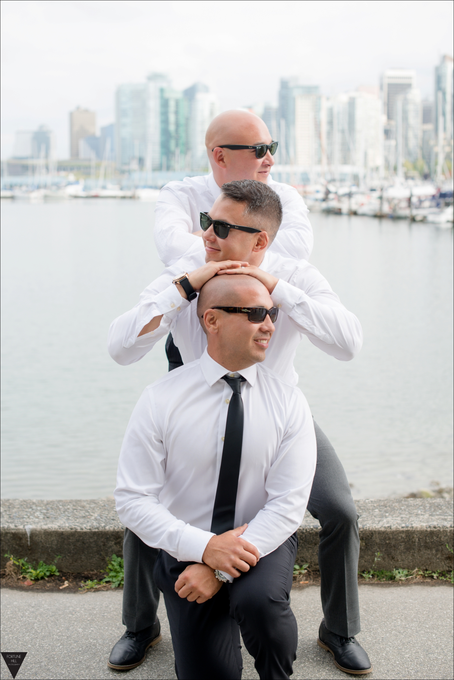 Vancouver Stanley Park wedding pictures