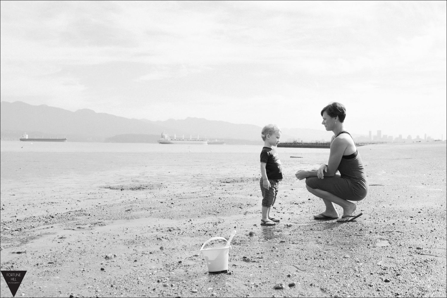 Vancouver Locarno beach family pictures