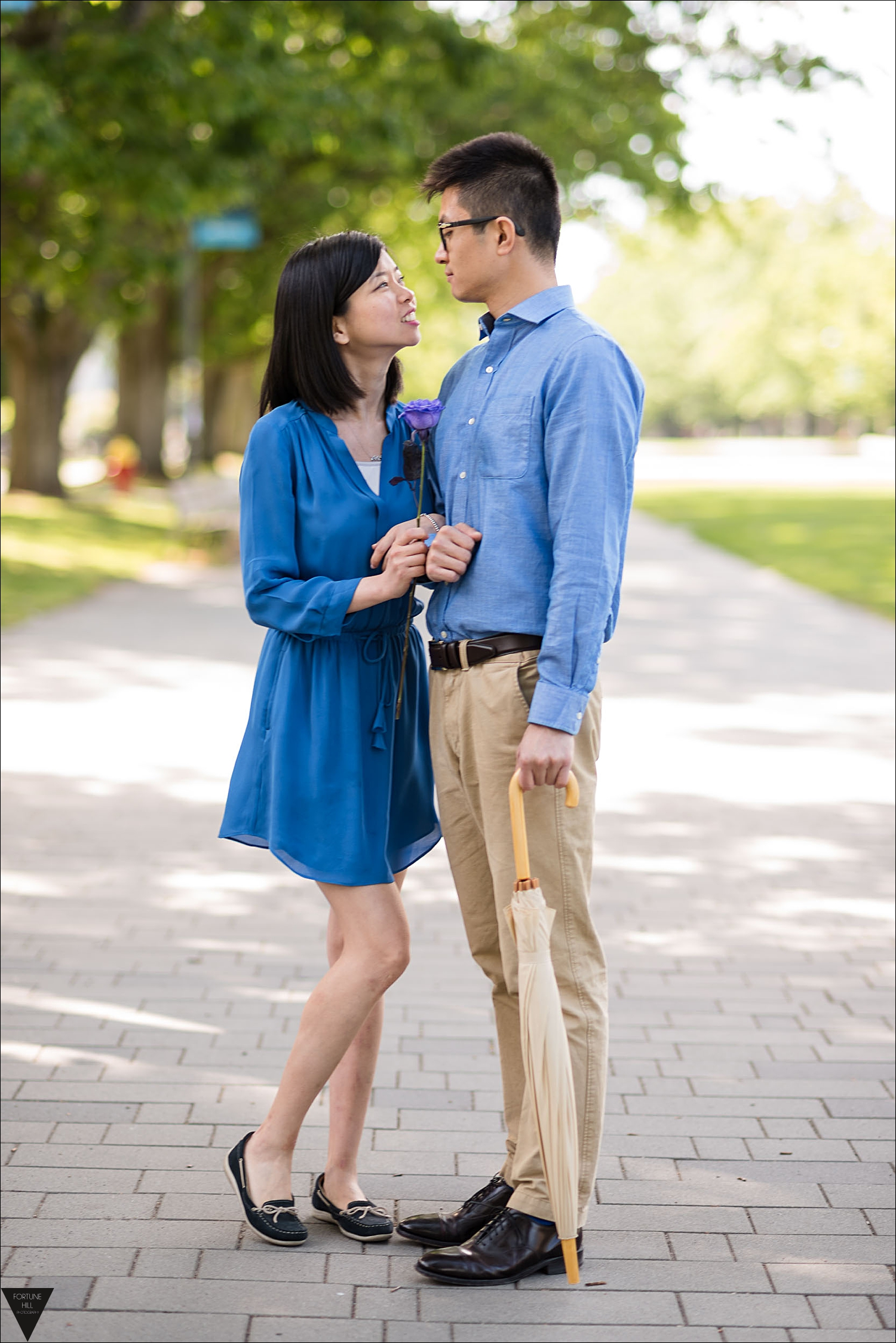 Vancouver UBC Engagement pictures