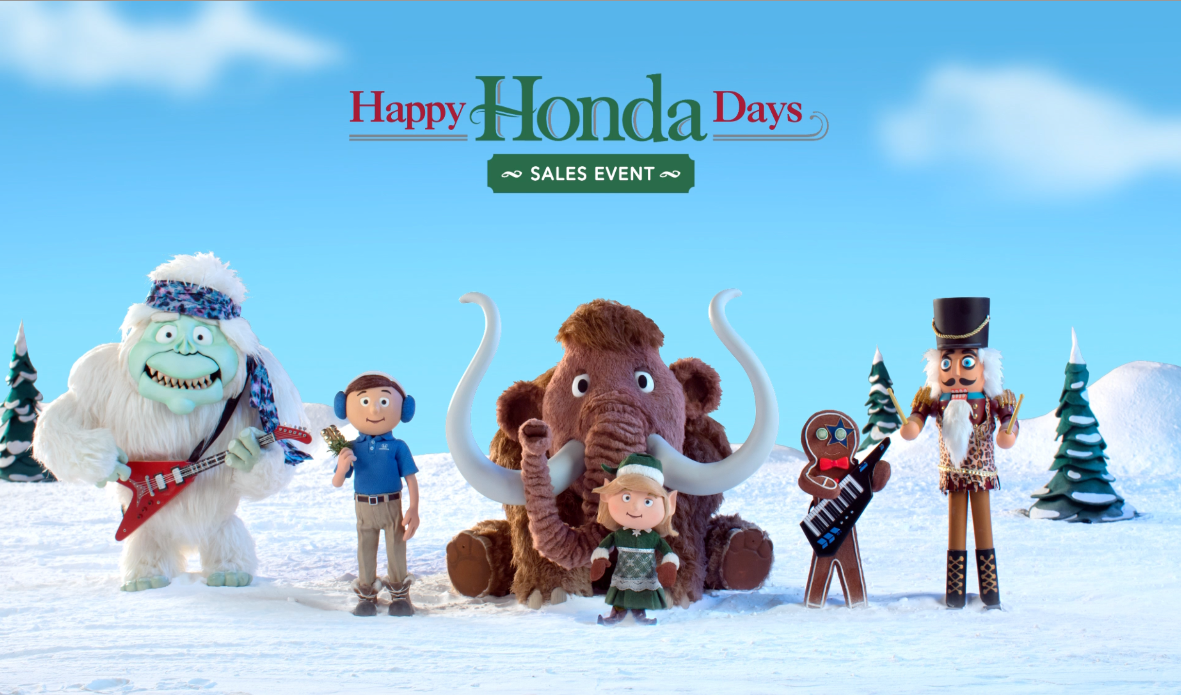Happy Honda Day: Ice Age