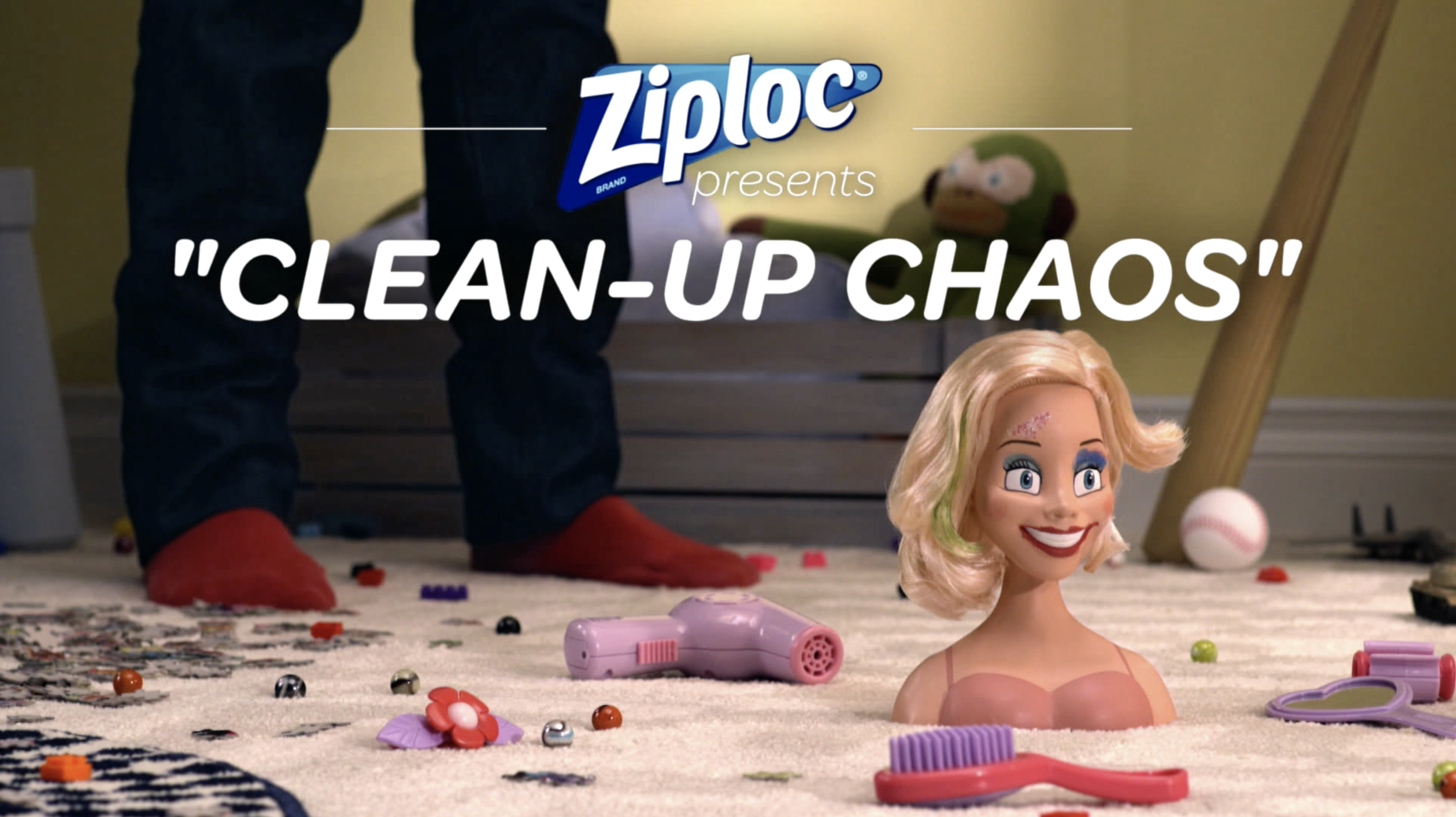 Ziploc Presents: 'Clean-Up Chaos'