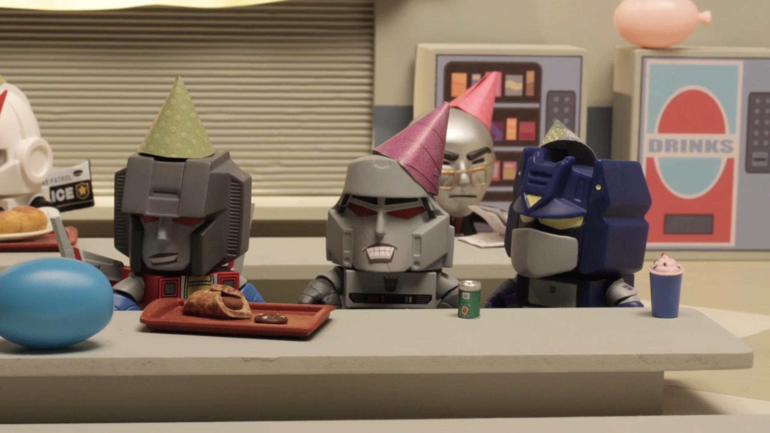 Loyal Subjects - Transformers vs. GIJoe: The Commissary - Ep 2