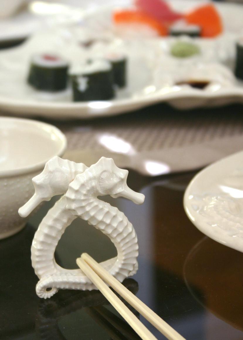 Seahorses do Sushi . . .