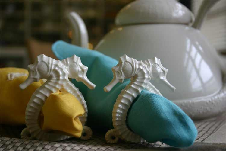 Seahorse Napkin Rings