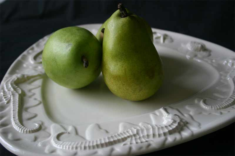 Seahorse & Starfish Platter with 2 pears