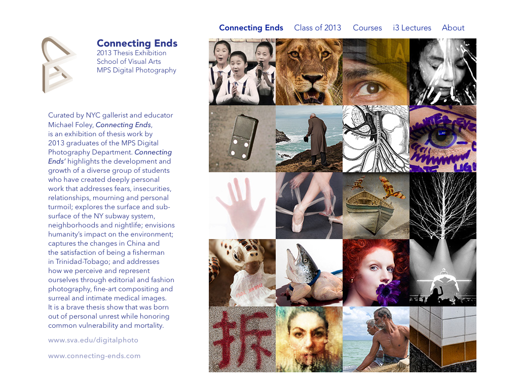 2013 iPad App for MPS in Digital Photography at SVA
