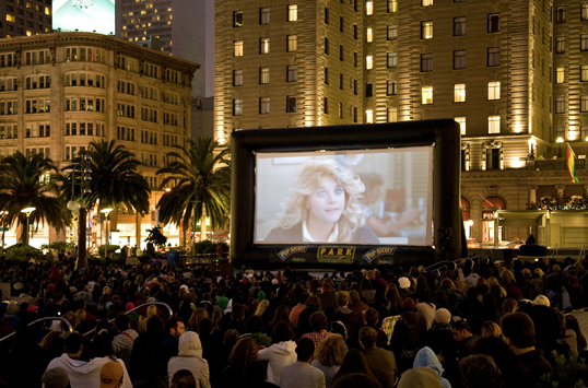 SUNDOWN CINEMA: FILM NIGHT IN THE PARK in UNION SQUARE   SFNTF and SF Parks Alliance produce the City's largest outdoor film series in Dolores Park and select other San Francisco parks. The 2019 season begins July 12th in Dolores Park. More info under Events.