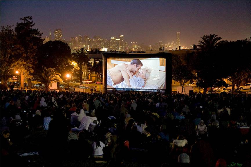 SUNDOWN CINEMA: FILM NIGHT IN THE PARK in DOLORES PARK   SFNTF and SF Parks Alliance produce the City's largest outdoor film series in Dolores Park and select other San Francisco parks. The 2019 season begins July 12th in Dolores Park. More info under Events.